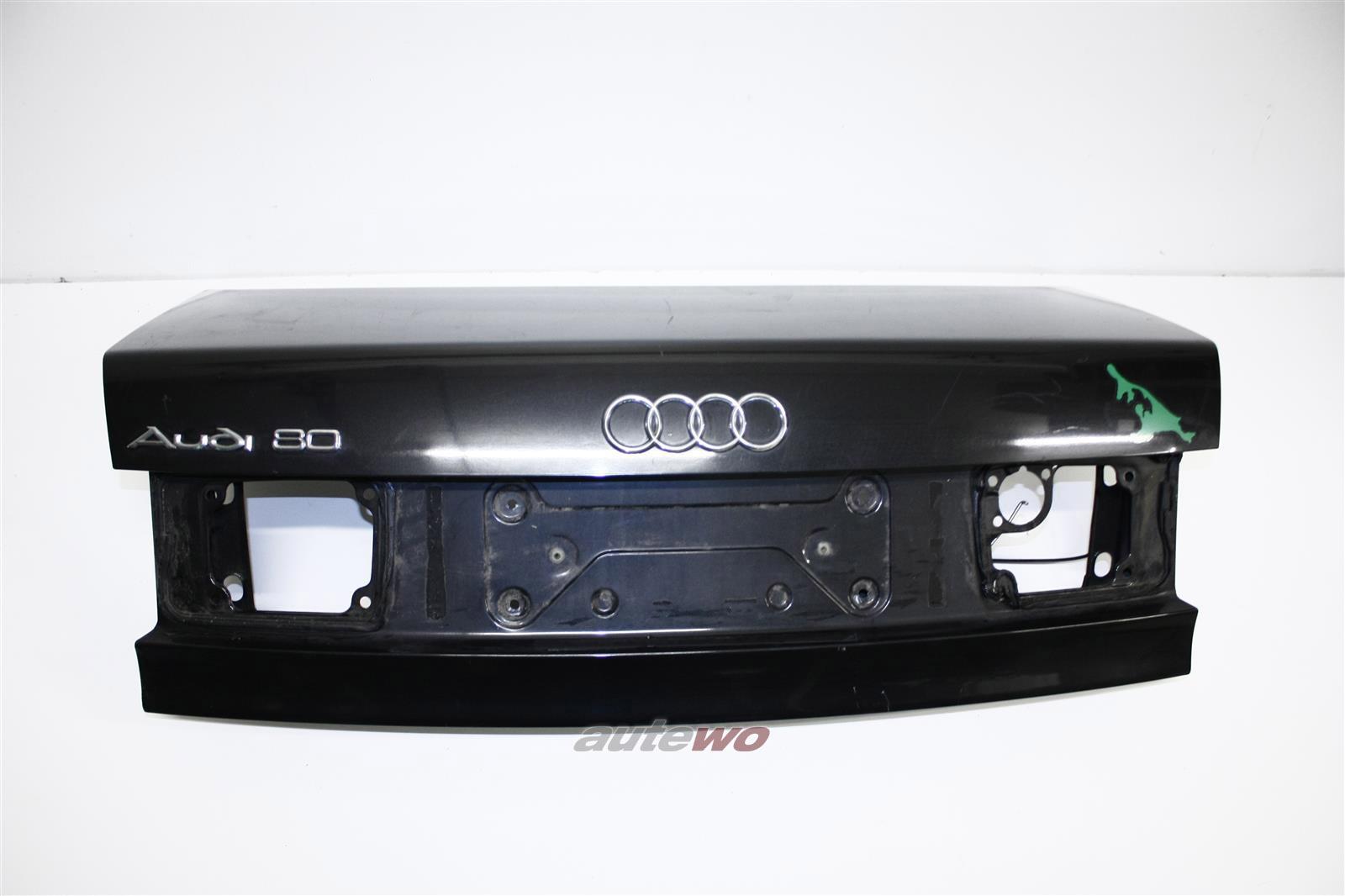 Audi 80 B4 Limousine Kofferaumdeckel/Heckklappe schwarz 8A5827023E
