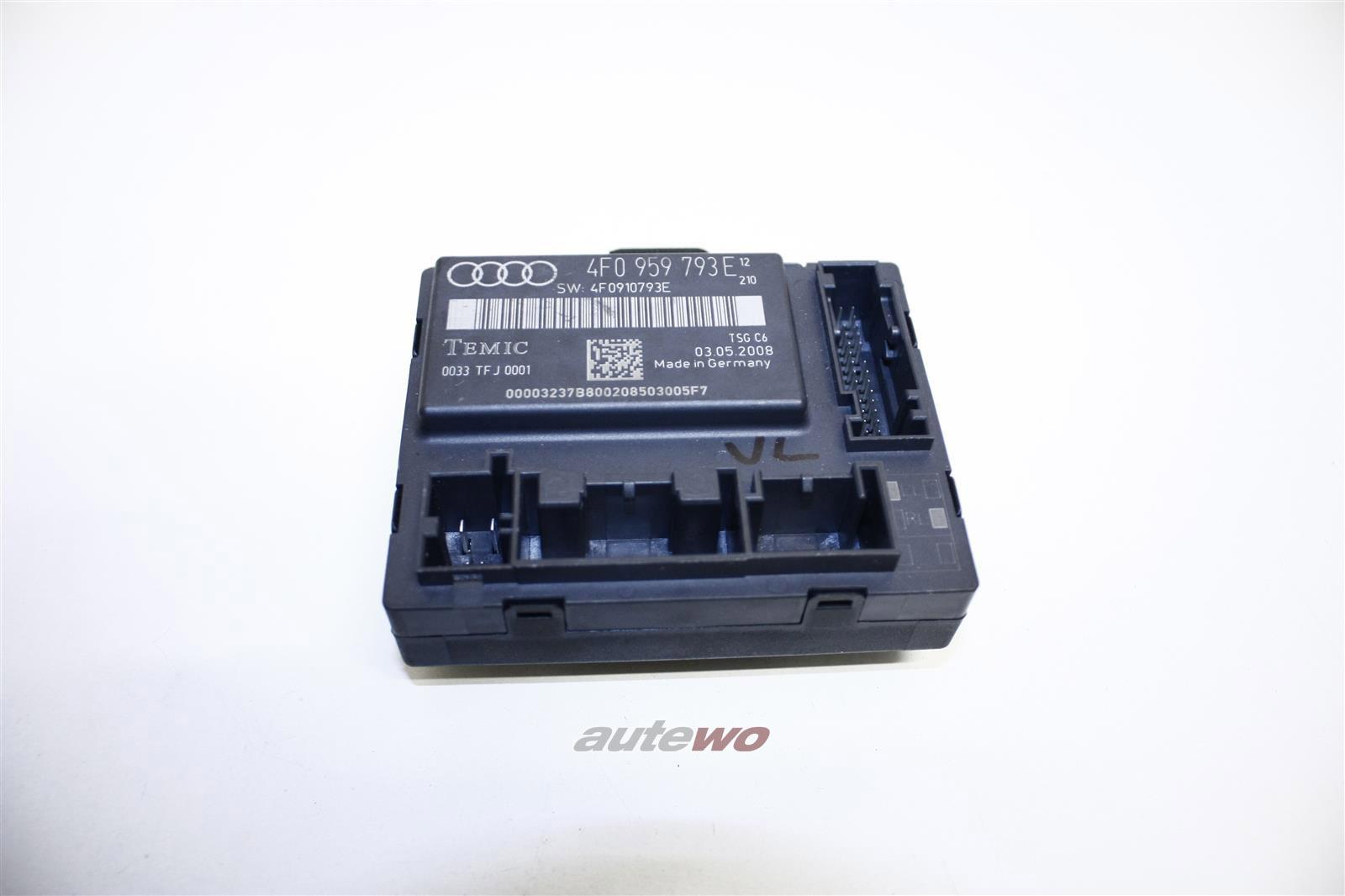 Audi A6/S6 4F Türsteuergerät Vorne Links 4F0959793E