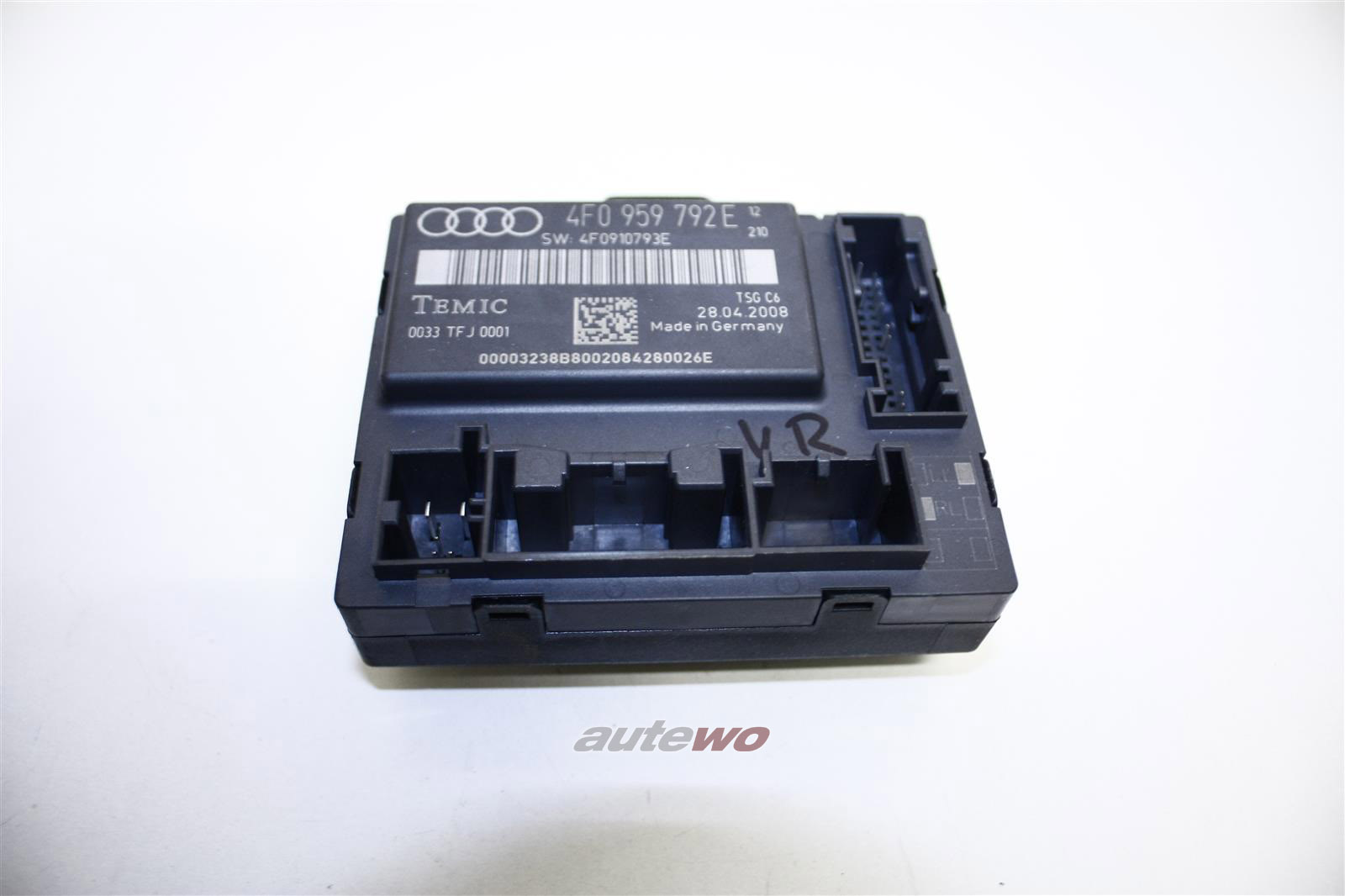 Audi A6/S6 4F Türsteuergerät Vorne Rechts 4F0959792E