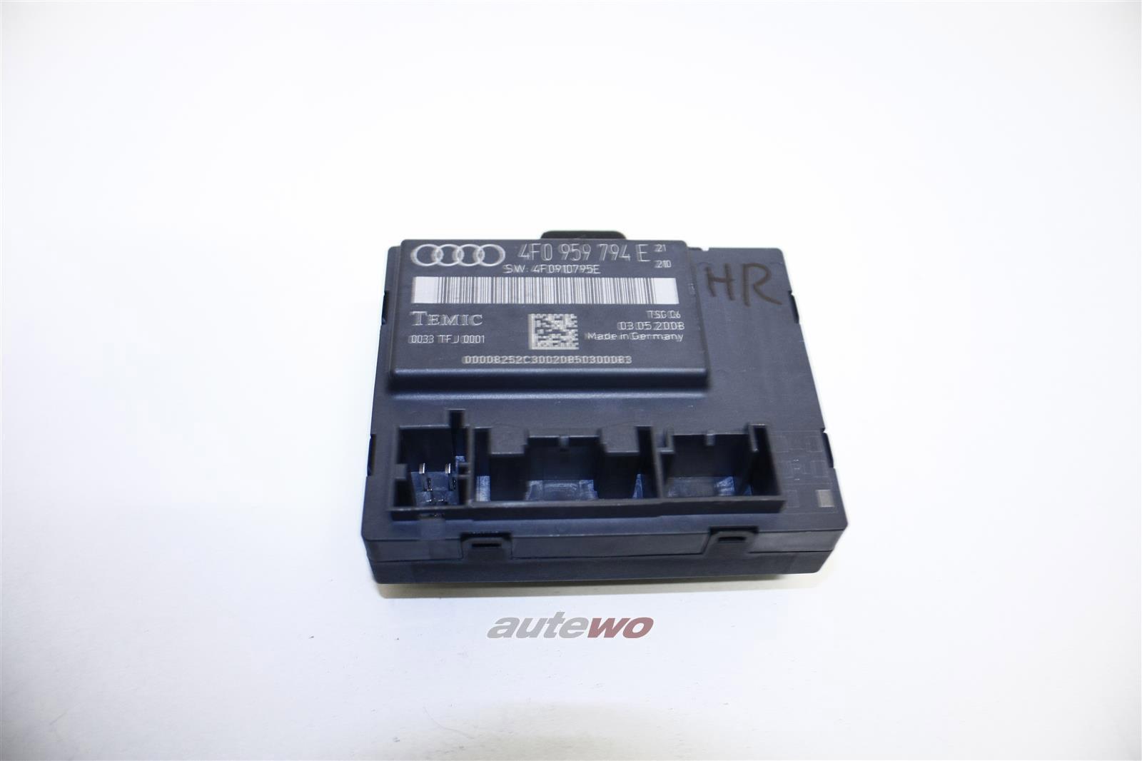 Audi A6/S6 4F Türsteuergerät Hinten Rechts 4F0959794E