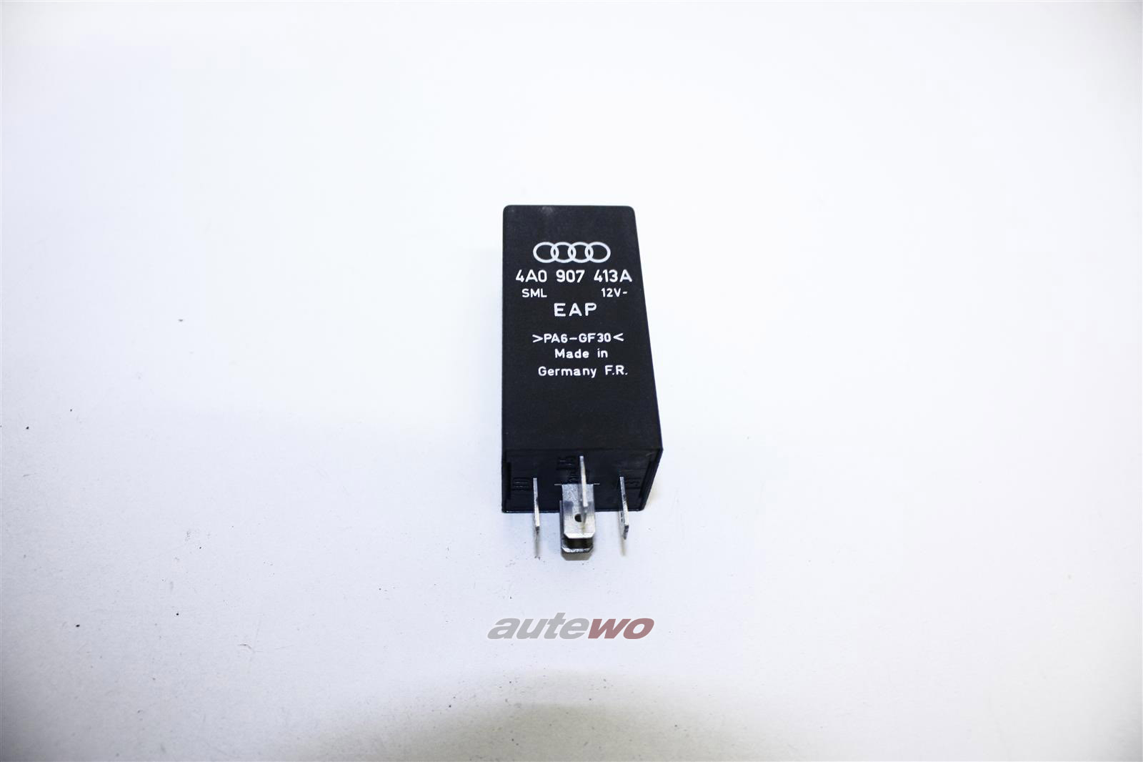 Audi 100 C4 2.5l 115PS AAT Steuergerät Motorlager/Hydrolager Relais 355 4A0907413A
