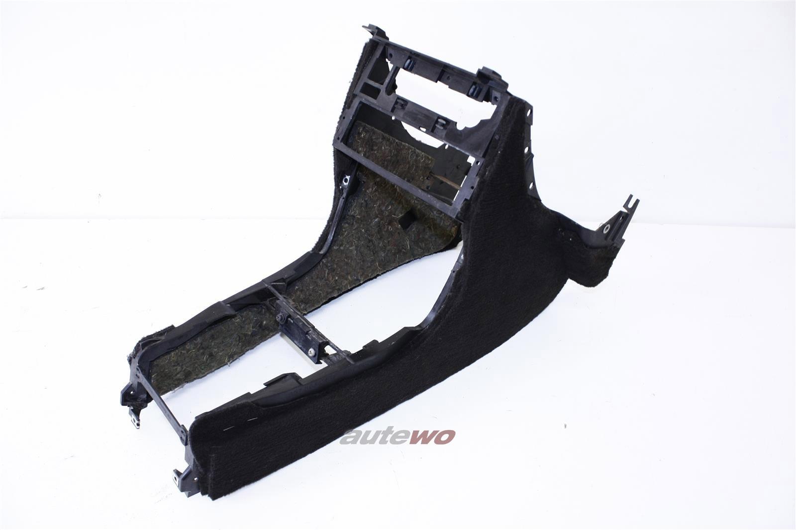 Audi 80/90 Typ 81/85 Mittelkonsole 5RL negro/brasil 857863243E