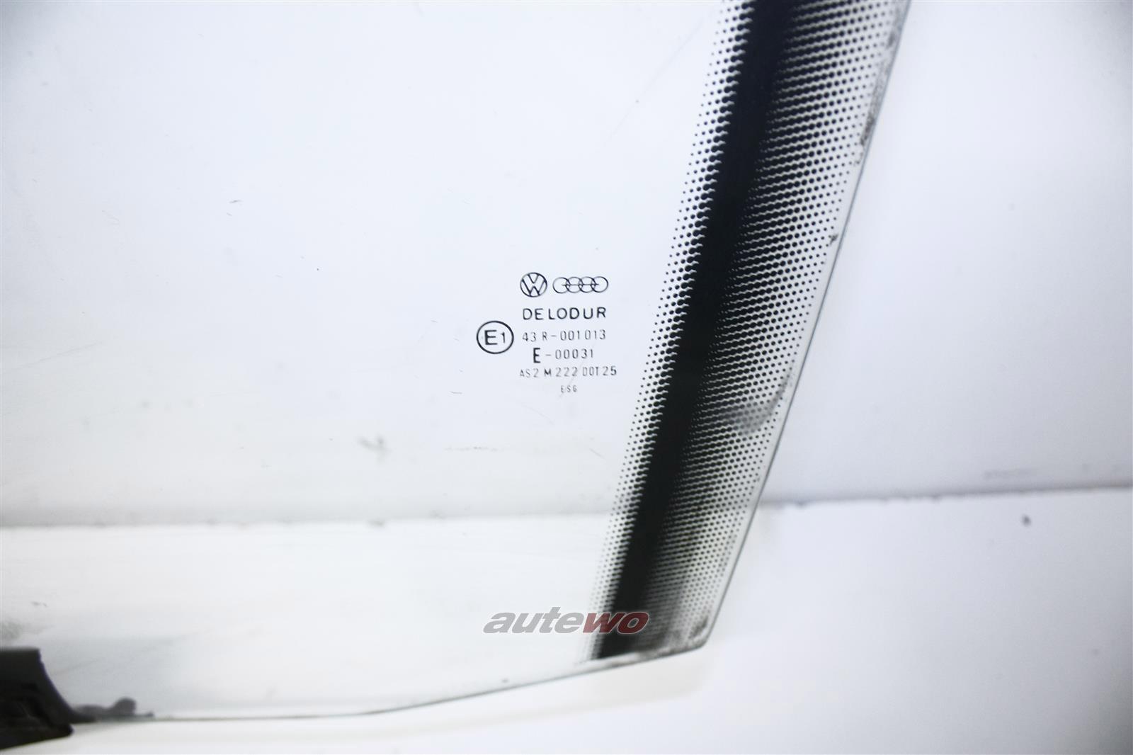 Audi 100/200 Typ 44/V8 D11 Seitenscheibe Klarglas Vorne Links 443845021C