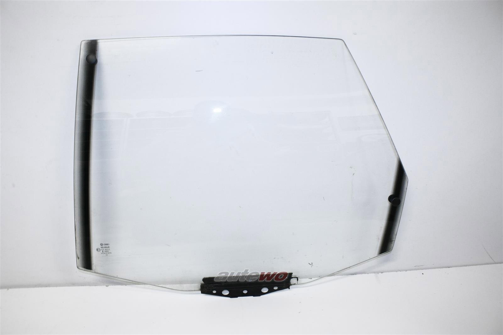 Audi 100/200 Typ 44/V8 D11 Limousine Seitenscheibe Klarglas Hinten Links 443845025C