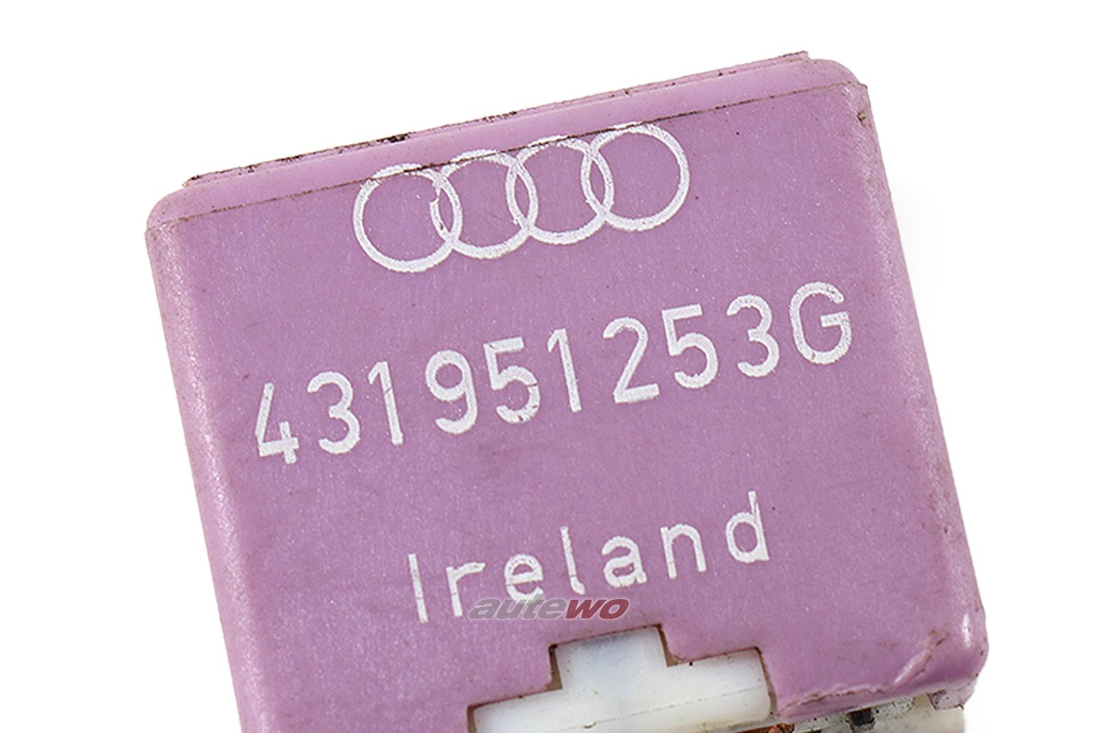Audi//VW 80//100//A4//A6 Relais 381 Nebelscheinwerfer 431951253G