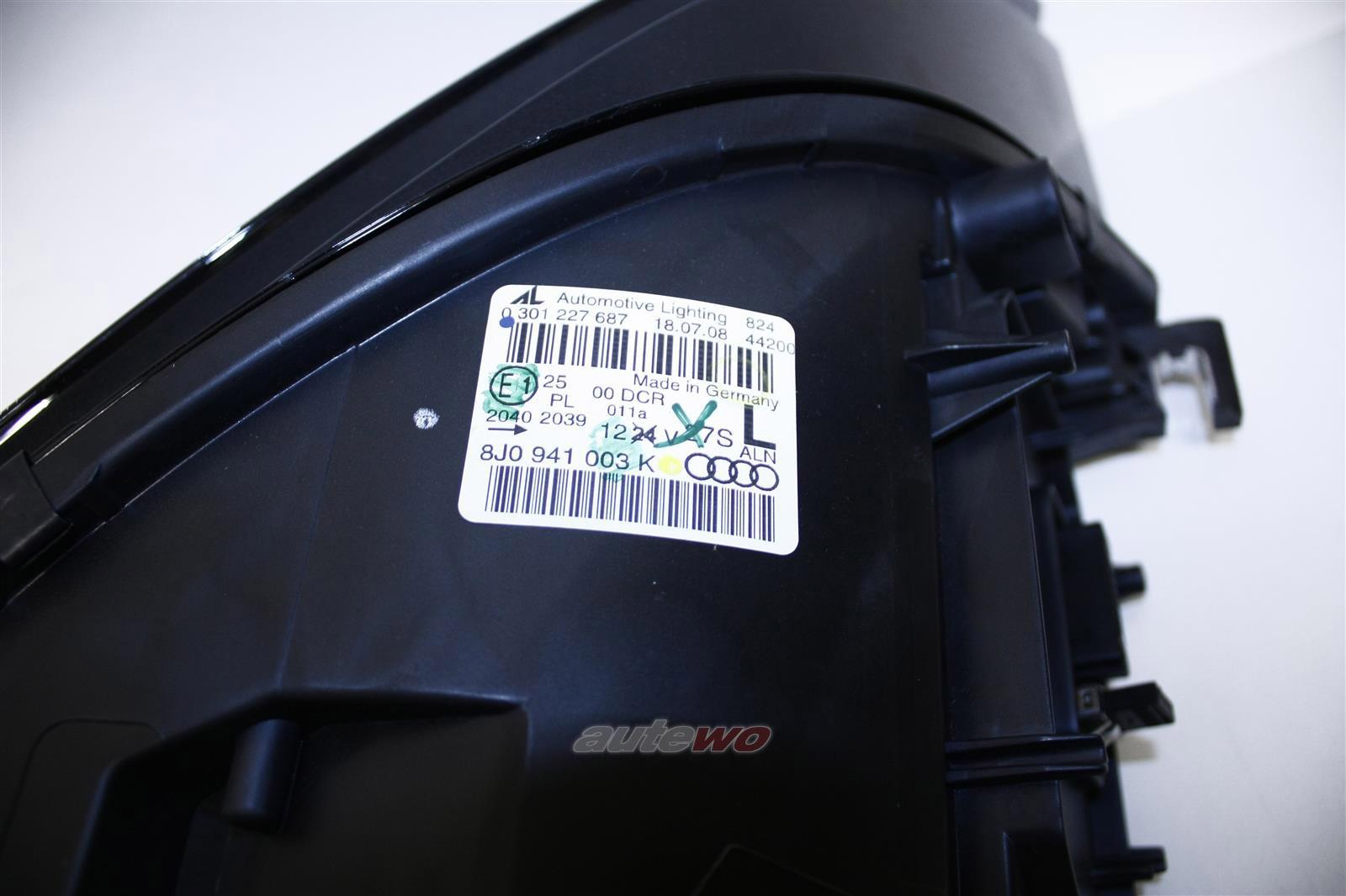 NEU&ORIGINAL Audi TT/TTS 8J Scheinwerfer Bi-Xenon RHD Links/Left 8J0941029K 8J09