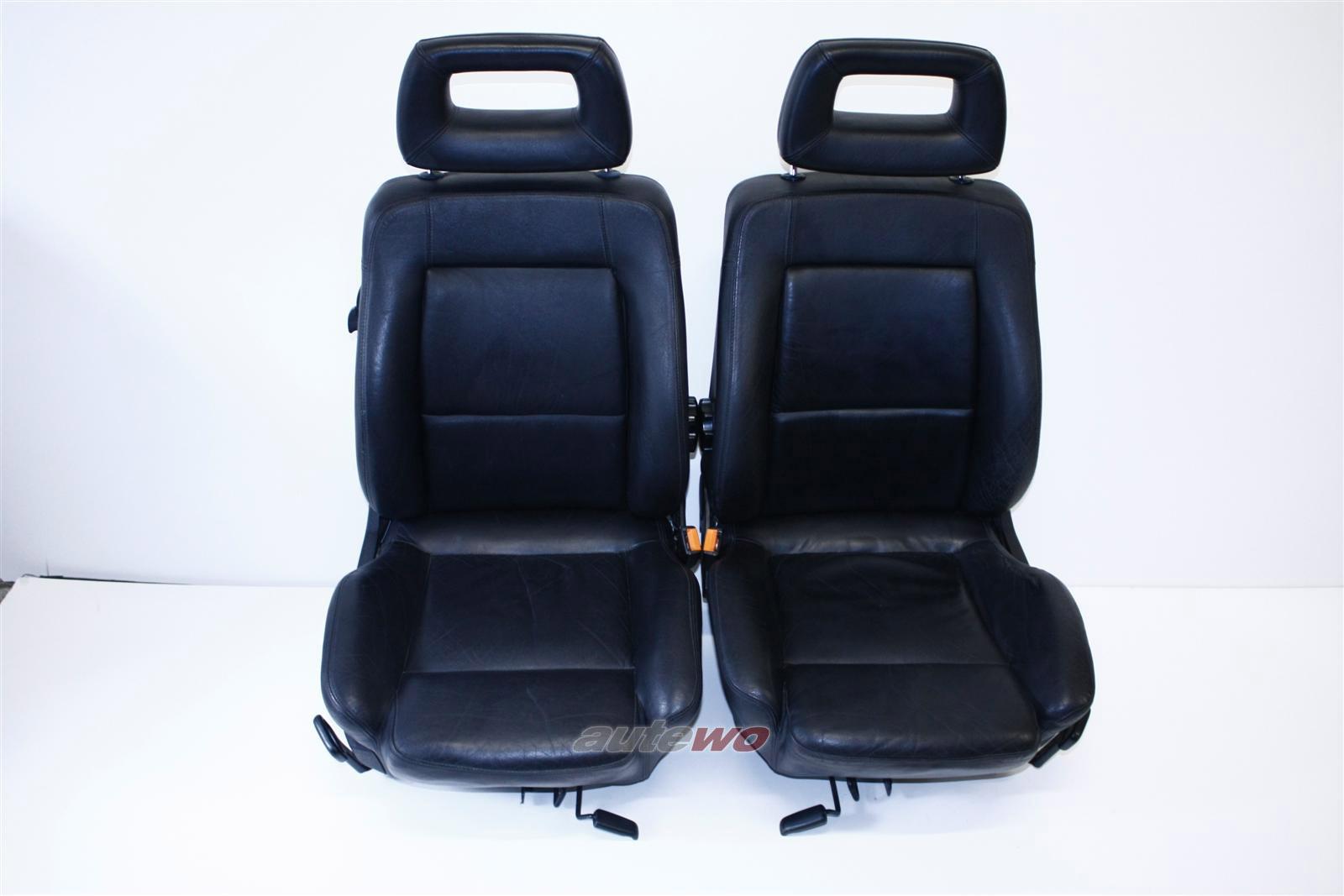 Audi 80 Cabrio/Coupe Typ 89 Sitze Leder schwarz Vorne