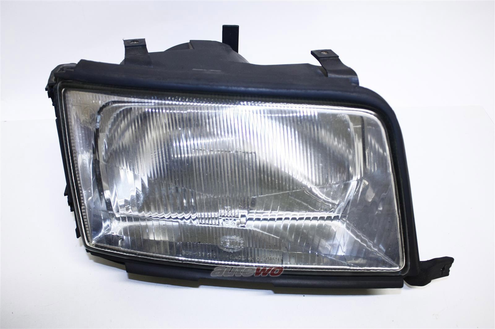 Audi 100 C4 Scheinwerfer original Hella ohne Nebelscheinwerfer Rechts 4A0941030