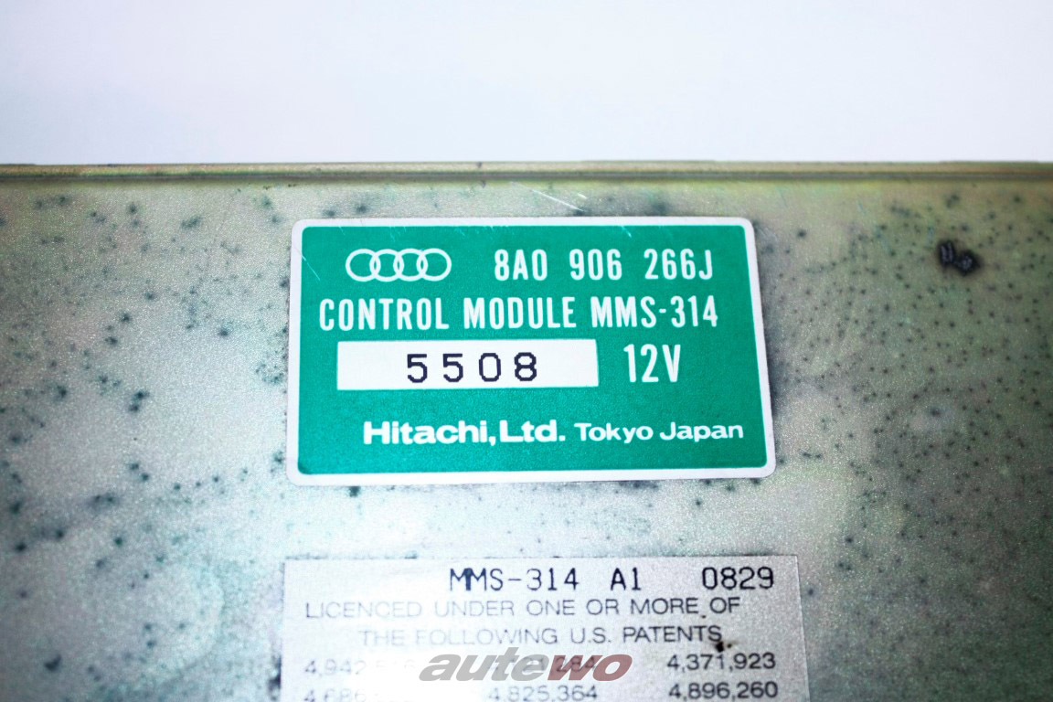 8A0906266J Audi 80 B4/A4 B5/A6 C4/A8 D2 2.8l 6 Zylinder AAH Motorsteuergerät
