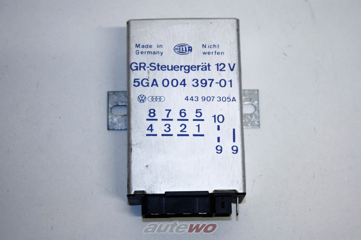 443907305A Audi/VW/SEAT 80 Typ 89/100/200 Typ 44/V8 D11 Steuergerät Tempomat