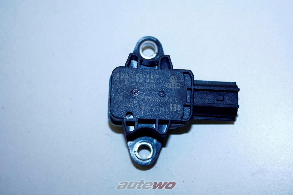 8P0955557 Audi/SEAT A3 8P/A4 8E/A8 D3/TT Crash-Sensor Airbag Mitte