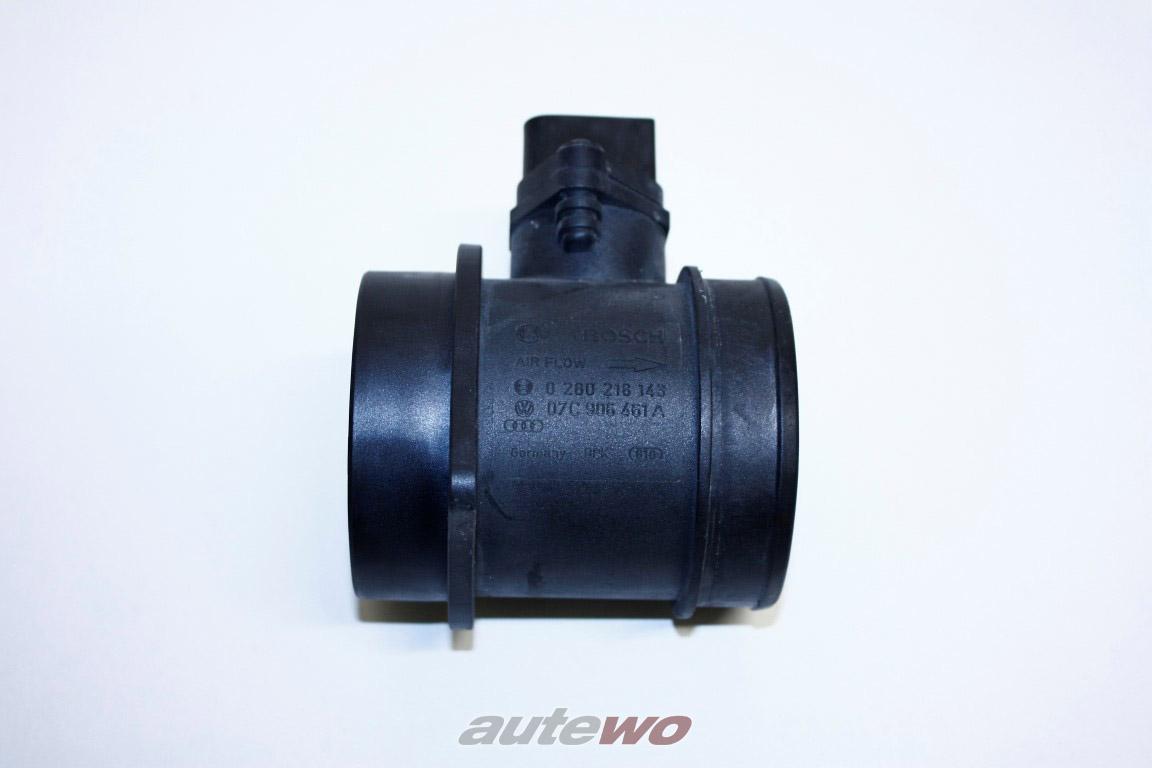 07C906461A BOSCH 0280218143 Audi RS6 4F/S8/R8 10/ 12 Zyl. Luftmassenmesser