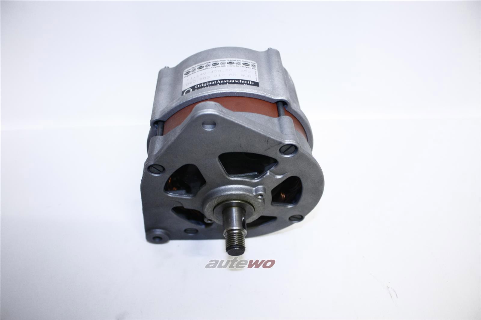 060903017AX Audi/VW 80 Typ 82/100 Typ 43/Passat 32B/Golf/Jetta 4 Zylinder Lichtmaschine 45A neu