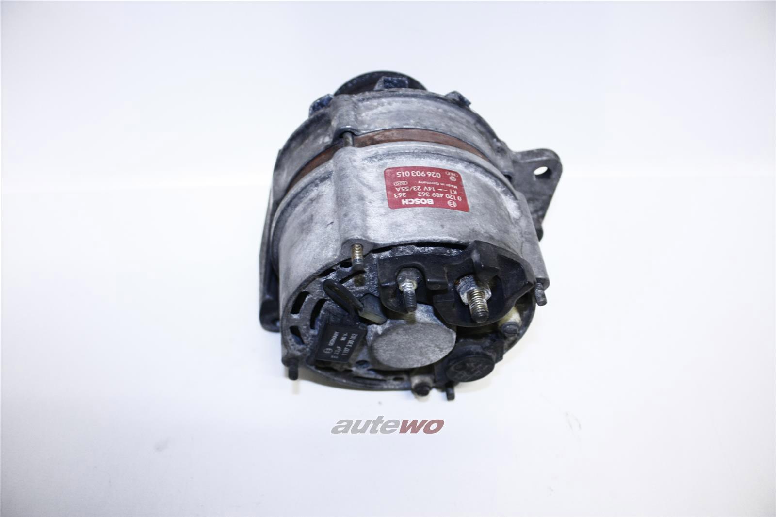 026903015 0120489362 Audi/VW 80 Typ 81/85/100 Typ 44/Passat 4 Zylinder Lichtmaschine 55A
