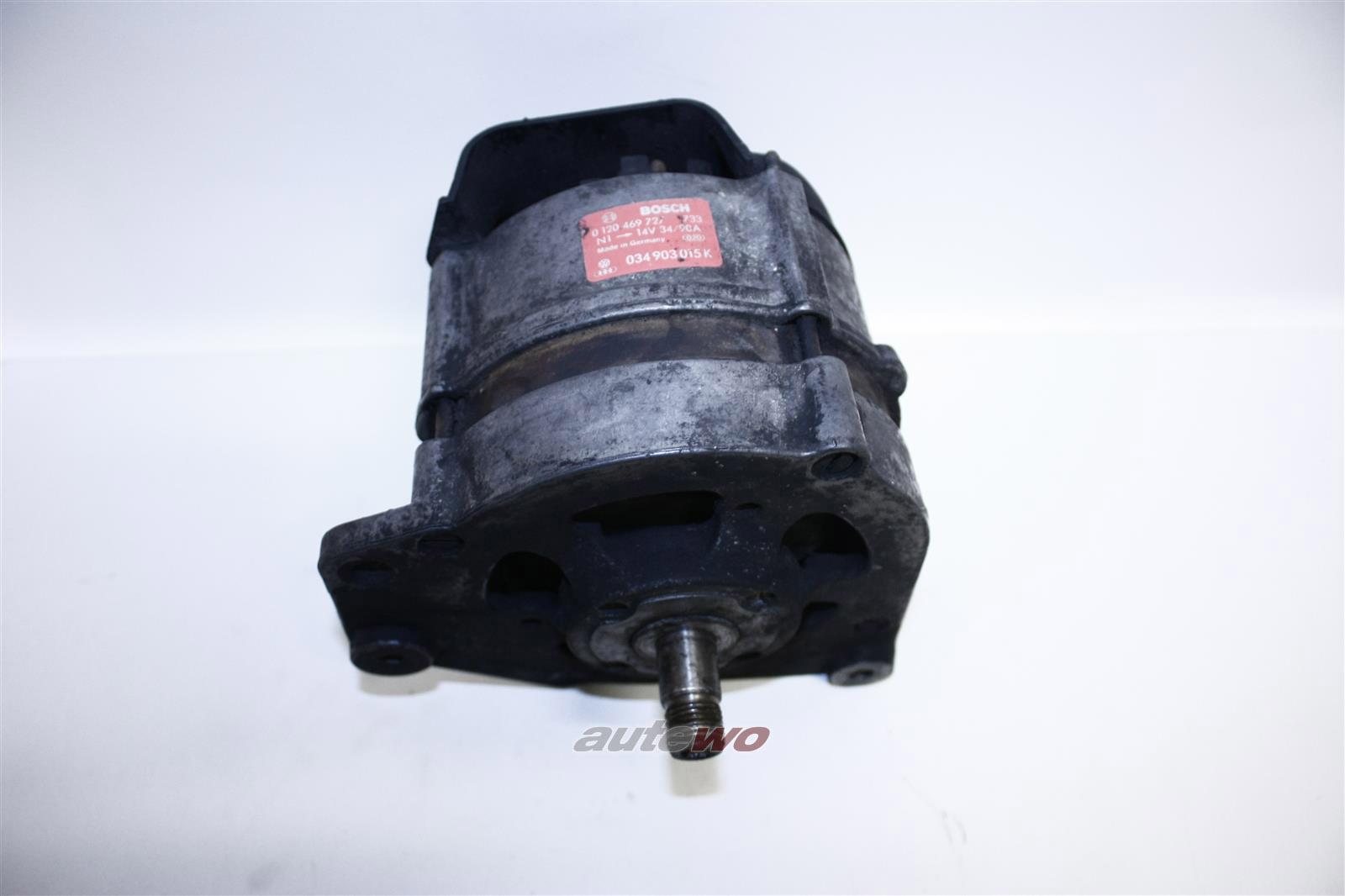 034903015K Bosch 0120469727 Audi/VW 100/200 Typ 44 2.2/2.3l Lichtmaschine 90A