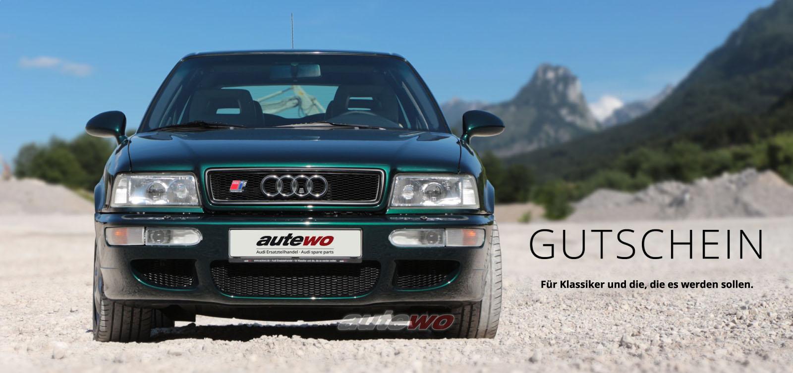 autewo-Geschenkgutschein über 25 Euro Motiv RS2 als Geschenkkarte
